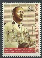 "Centrafrique YT 120 "" Pdt Bokassa "" 1969 Neuf** - Central African Republic"