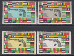 1971 Kenya Uganda Tanzania All Africa Trade Fair Flags Complete Set Of 4  MNH. - Kenya, Ouganda & Tanzanie