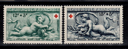 YV 937 & 938 N** Croix Rouge Cote 12 Euros - Unused Stamps