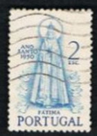 PORTOGALLO (PORTUGAL)  -  SG 1037 - 1950 HOLY YEAR: MADONNA OF FATIMA            -     USED° - Used Stamps