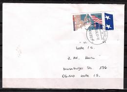 BRD, MiNr.: 1926, 50 Jahre Marshallplan; Auf Portoger. Brief Von Leipzig Nach Halle; B-1762 - Covers & Documents
