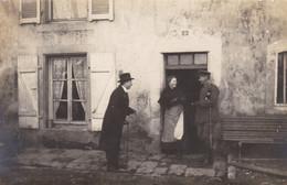 JUVILLE  - MOSELLE - (57) - CARTE-PHOTO ANIMEE 1918. - Andere Gemeenten