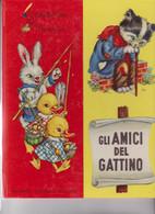 """LIBRO EDITRICE """"PICCOLI""""   : COLLANA :FOGLIOLINE  :GLI AMICI DEL GATTINO . . ILLUTRATA DA MARIAPIA - Teenagers & Kids"""