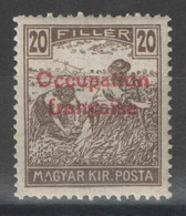 Hongrie - YT 10 * MH - 1919 - Used Stamps