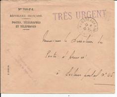 Env Cad POSTE AUX ARMEES 10/10/1939 Secteur 38  Griffe Direction Generale De La Poste Aux Armées TB - Guerra De 1939-45