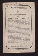 46 JAAR KOSTER ST MARTENS LATEM  SEVERINUS VERLEIE   ONTSLAPEN 1882  84 JAAR OUD - Overlijden