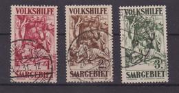 SARRE : N° 143/45 . OBL . TB . 1930/32 . - Usados