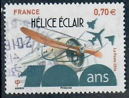 YT 5085  Hélice-Eclair Cachet Rond - Used Stamps