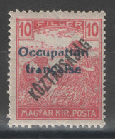 Hongrie - YT 31 * MH - 1919 - Used Stamps