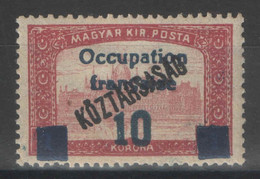 Hongrie - YT 39 * MH - 1919 - Used Stamps