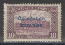 Hongrie - YT 22 * MH - 1919 - Used Stamps