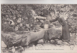 CPA - 19 - Types Et Scènes Champêtres - A La Fontaine - Edit E.F.I.U - Eyboulet Frères à USSEL N°87 - Unclassified