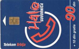 PHONE CARD SERBIA (E69.14.8 - Joegoslavië