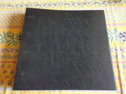 Album Classeur Vide, D'occasion,  Pour Cartes Postales Ou Autres Collections - Noir - Album, Raccoglitori & Fogli