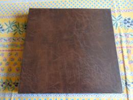 Album Classeur Vide, D'occasion,  Pour Cartes Postales Ou Autres Collections - Brun - Album, Raccoglitori & Fogli