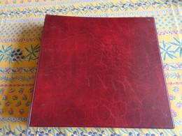 Album Classeur Vide, D'occasion,  Pour Cartes Postales Ou Autres Collections - Rouge - Album, Raccoglitori & Fogli
