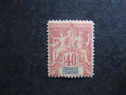 Grande Comore :  TB N° 10, Faux Fournier. Neuf XX . - Neufs