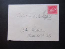 Böhmen Und Mähren 1944 Hitler Nr. 96 EF Kleiner Umschlag Nach Essen Gesendet - Briefe U. Dokumente