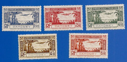 DAHOMEY PA 1 à 5  NEUFS ** - Unused Stamps