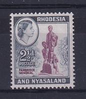 Rhodesia & Nyasaland: 1959/62   QE II - Pictorial     SG21     2½d     MH - Rhodesien & Nyasaland (1954-1963)