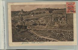 Palestine -Jerusalem Vallée De Josephat  FEVR 2021 13 - Palestina