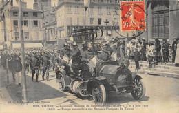 CPA 38 VIENNE CONCOURS NATIONAL DE SAPEURS POMPIERS 3,4 ET 5 JUIN 1911 DEFILE - Vienne