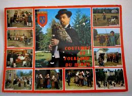 134/CPM - Berry - Coutumes Et Folklore - Danses, Joueurs De Vielle, Joueurs De Biniou - Other