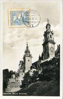 62066 Poland, Maximum 3.6.1936, Krakow, Wawel The Goyik Cathedral Of Krakow,architecture,mi-242 - Eglises Et Cathédrales