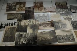 LOT ( X 60) PHOTO  CARTE PHOTO ALLEMANDE  UNIFORMES GROUPE MILITARIA 1914/1918 WK1 WW 1 - War 1914-18