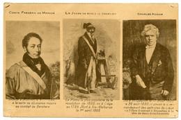 Révolution Indépendance Belgique De 1830. 3 Héros.Comte De Mérode.J.J.Charlier Jambe En Bois.Charles Rogier. - Histoire