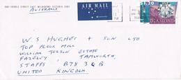 39254. Carta Aerea MELBOURNE (Australia) 1997. DIAMOND Stamp - Cartas