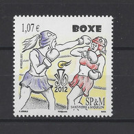 ST PIERRE ET MIQUELON.  YT  N° 1050  Neuf **   2012 - Unused Stamps