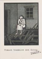 UNGERER - Les Femmes Paient La Guerre Ed Caritas International Fribourg Freiburg Allemagne - CPM 10,5x15 TBE 1996 Neuve - Ungerer