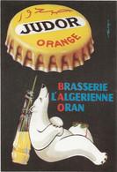 PUBLICITE JUDOR BRASSERIE L'ALGERIENNE D'ORAN - Publicidad