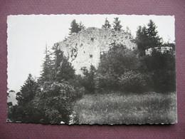 CPA PHOTO 39  CHAMPAGNOLE Ruines De Chateau Vilain Villain ? - Champagnole