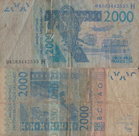 Niger / 2.000 Naira / 2003 / P-616H(a) / FI - Niger