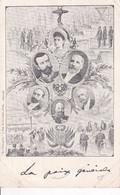 1901 DUNKERQUE   REIMS      NICOLAS II ET ALEXANDRA    PAR  P BLAIN       PRECURSEUR - Geschiedenis