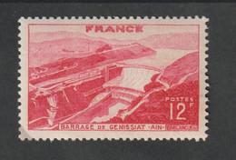 Timbres 1948 -   N° 817 - Barrage De Génissiat     -  Neuf Sans Charnière - - Unused Stamps