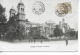 Ferroviaire LILLE Nord Cachet Gare De Lille Ambulant B Sur 1c Blanc 1904    ....G - Railway Post