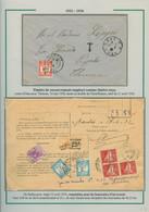10 Lettres Et Devants De Lettres Avec Divers Timbres-taxe De Recouvrements D'Algérie. Lot Varié. TB - Storia Postale