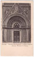 Orvieto - Facciata Della Cattedrale - La Porta Maggiore /P826/ - Terni