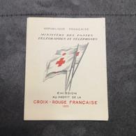 ⭐ Carnet CROIX-ROUGE 1955, Timbres NEUFS** - Excellent État Sans Charnières ⭐ - Red Cross