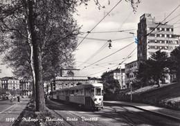 MILANO - Bastioni Porta Venezia - F/G - V: 1960 - Tram - Milano (Milan)