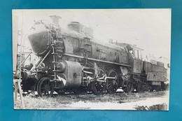 Locomotive Etat 131-901 - Photo Train Vapeur Dépôt - Années 1930- France Allemagne Bade Armistice Gare Chemin Fer SNCF - Trains