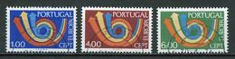 Europa CEPT 1973 Portugal Y&T N°1179 à 1181 - Michel N°1199 à 1201 (o) - 1973