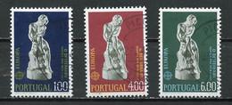 Portugal 1974 Y&T N°1211 à 1213 - Michel N°1231 à 1233 (o) - EUROPA - Used Stamps