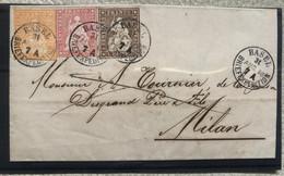 Suisse, Rare Lettre - Brieven En Documenten
