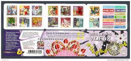 2010 Carnet Adhésif N° BC 493 - Meilleurs VOEUX - NEUF  LUXE ** NON Plié - Commemorrativi
