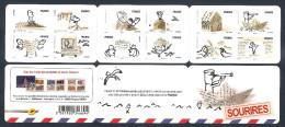 2010 Carnet Adhésif N° BC 473 - SOURIRES De Serge BLOCH - NEUF  LUXE ** NON Plié - Commemorrativi