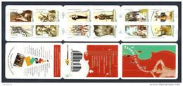 2010 Carnet Adhésif ART - La MUSIQUE -N° BC 390 - NEUF - LUXE ** NON Plié - Commemorrativi
